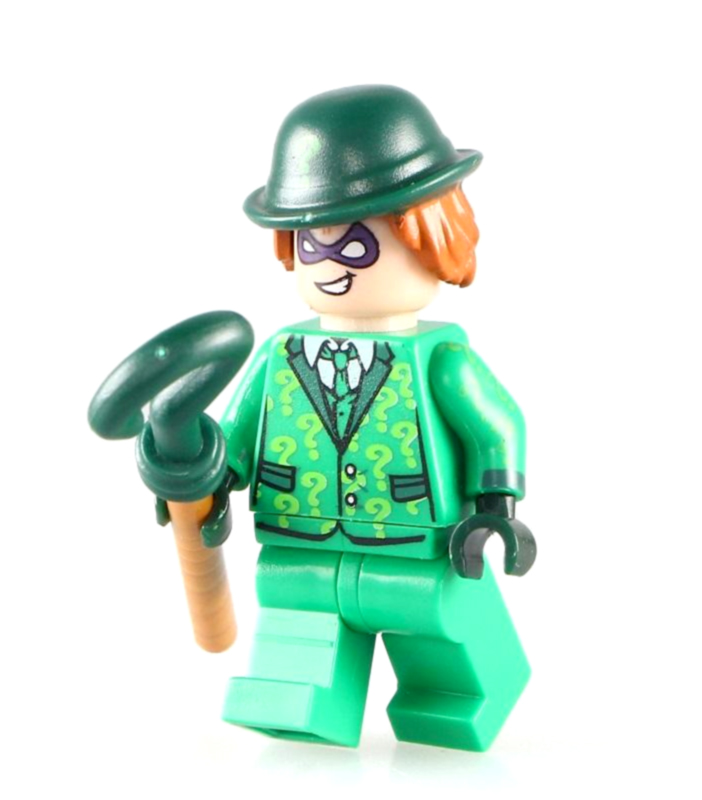 DC Comics SuperHeroes Minifigure: The Riddler (with hat)