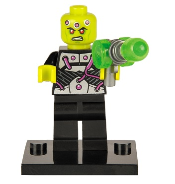 DC Comics SuperHeroes Minifigure: Brainiac