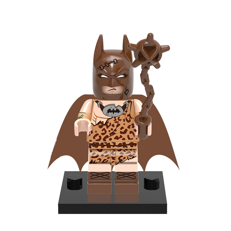 DC Comics SuperHeroes Minifigure: Batman (Caveman)