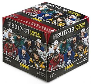 2017-18 NHL Hockey Sticker Box