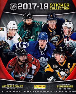 2017-18 NHL Hockey Sticker Album