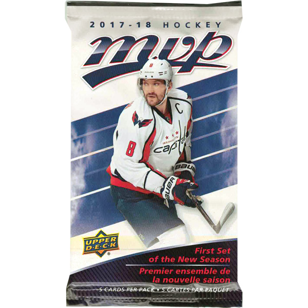 2017-18 Hockey MVP Retail Booster Pack