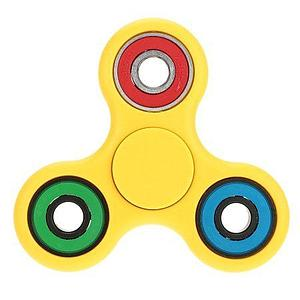 Fidget Spinner (Yellow) Color Rings