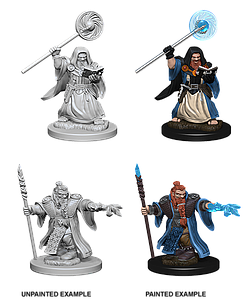 Dungeons & Dragons Roleplaying Game Unpainted Miniatures: Dwarf Wizard