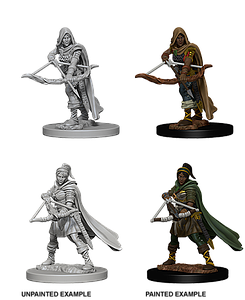Dungeons & Dragons Roleplaying Game Unpainted Miniatures: Human Ranger