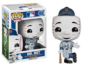 Pop! Baseball MLB Mascots Vinyl Figure Mr. Met (New York Mets) #02 (Vaulted)