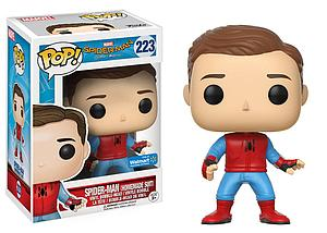 Pop! Marvel Spider-Man Homecoming Vinyl Bobble-Head Spider-Man (Homemade Suit) (Unmasked) #223 Walmart Exclusive
