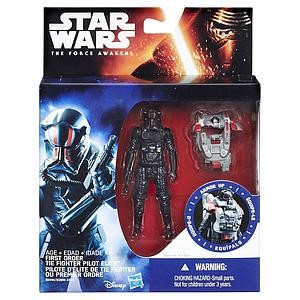 "Star Wars The Force Awakens Space Mission Armor Tie Fighter Pilot Elite 3.75"" Figure"