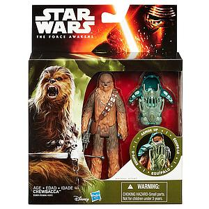 "Star Wars The Force Awakens Forest Mission Armor Chewbacca 3.75"" Figure"