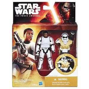 "Star Wars The Force Awakens Desert Mission Armor Finn (FN-2187) 3.75"" Figure"