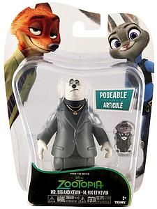 Tomy Disney Zootopia Mr Big and Kevin Mini Figure 2-Pack