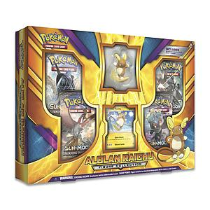 Pokemon Trading Card Game: Alolan Raichu Figure Box