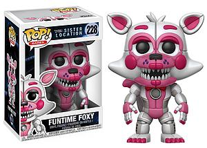 Pop! Games Five Nights at Freddy's Sister Location Vinyl Figure Funtime Foxy #228