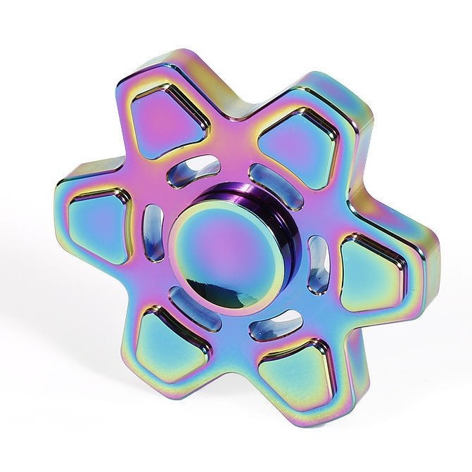 Fidget Spinner (Hexagonal Star) Metal