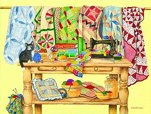The Quilting Table (52886)