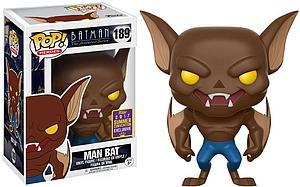 Pop! Heroes Batman The Animated Series Vinyl Figure Man Bat #189 2017 Summer Convention Exclusive