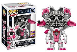 Pop! Games Five Nights at Freddy's Sister Location Vinyl Figure Jumpscare Funtime Foxy #223 2017 Summer Convention Exclusive