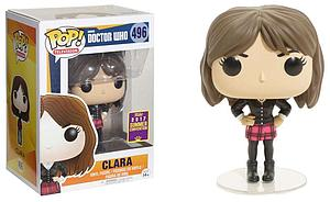 Pop! Television Doctor Who Vinyl Figure Clara #496 2017 Summer Convention Exclusive