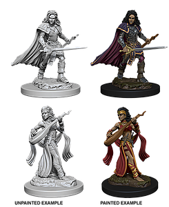 Pathfinder Roleplaying Game Unpainted Miniatures: Human Female Bard