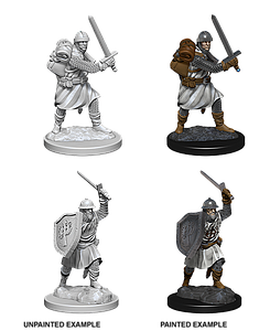 Pathfinder Roleplaying Game Unpainted Miniatures: Infantrymen
