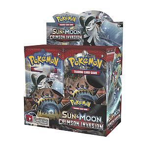 Pokemon Trading Card Game: Sun & Moon Crimson Invasion Booster Box