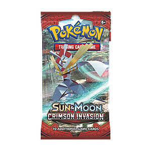 Pokemon Trading Card Game: Sun & Moon (SM4) Crimson Invasion Booster Pack