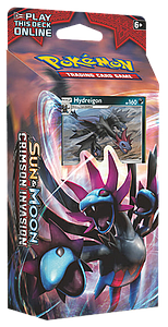 Pokemon Trading Card Game: Sun & Moon Crimson Invasion Theme Deck: Destruction Fang (Hydreigon)