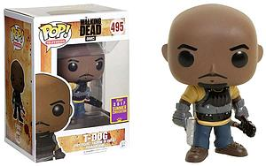 Pop! Television The Walking Dead Vinyl Figure T-Dog #495 2017 Summer Convention Exclusive