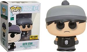 Pop! Television South Park Vinyl Figure Goth Stan #13 Hot Topic Exclusive