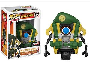 Pop! Games Borderlands Vinyl Figure Commando Claptrap #212 Gamestop Exclusive