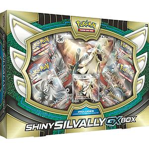 Pokemon Trading Card Game: Shiny Silvally-GX Box