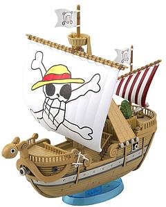 One Piece Grand Ship Collection Model Kit: Going Merry Memorial Color Ver.