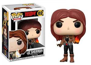 Pop! Comics Hellboy Vinyl Figure Liz Sherman #02