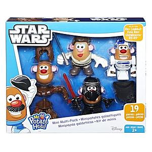 Playskool Friends Mr. Potato Head Star Wars Mini Multi-Pack Rey (Jakku), Kylo Ren, Chewbacca R2-D2