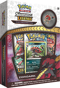 Pokemon Trading Card Game: Zoroark Pin Collection Box