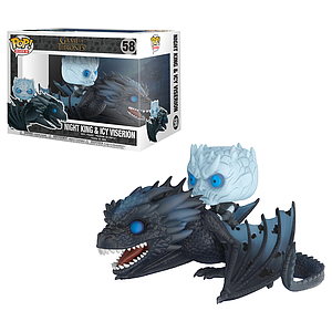 Pop! Rides Television Game of Thrones Vinyl Figure Night King & Icy Viserion #58