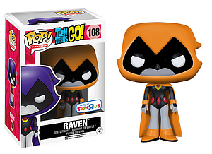 Pop! Television Teen Titans Go! Vinyl Figure Raven (Orange) #108 Toys R Us Exclusive
