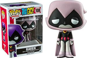 Pop! Television Teen Titans Go! Vinyl Figure Raven (Grey) #108 Toys R Us Exclusive