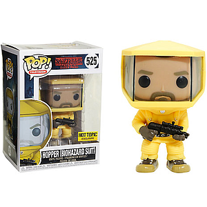 Pop! Television Stranger Things Vinyl Figure Hopper (Biohazard Suit) #525 Hot Topic Exclusive