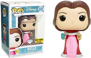 Pop! Disney Beauty & the Beast Vinyl Figure Belle with Birds (Diamond Collection) #241 Hot Topic Exclusive