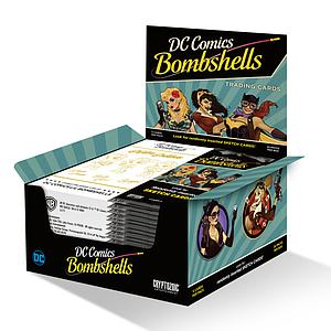 DC Comics Bombshells Trading Cards 2017 Booster Box
