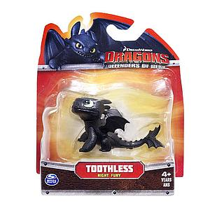 Spin Master Dragons: Defender of Berk 3 Inch: Toothless (Night Fury)