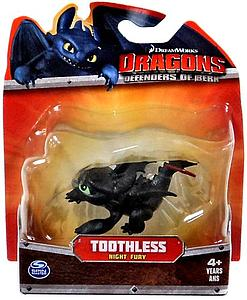 Spin Master Dragons: Defender of Berk 3 Inch: Toothless (Half Red Tail)