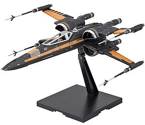 Star Wars 1/72 Scale Model Kit: Poe's Boosted X-Wing Fighter