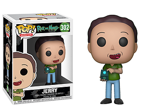 Pop! Animation Rick & Morty Vinyl Figure Jerry #302