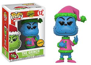 Pop! Books The Grinch Vinyl Figure The Grinch (Blue) #12 Chase