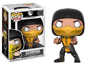 Pop! Games Mortal Kombat X Vinyl Figure Scorpion #250