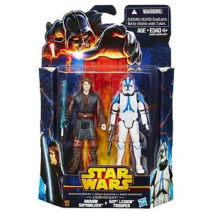 Star Wars Mission Series 2-Packs: Anakin Skywalker & 501st Legion Trooper
