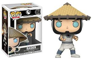 Pop! Games Mortal Kombat X Vinyl Figure Raiden #254