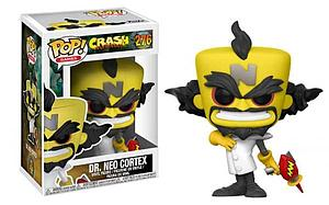 Pop! Games Crash Bandicoot Vinyl Figure Dr. Neo Cortex #276